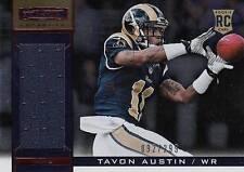 2013 Rookies and Stars Longevity #234 Tavon Austin Jersey SN#92/299 Rams