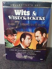 Wits and Wisecrackers Three 3 Stooges Abbott Little Rascals ~ New DVD Box Set