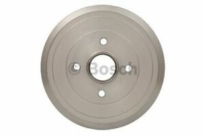 Brake Drum fits NISSAN MICRA K13 1.2 Rear 10 to 15 Bosch 432061HA0A Quality New