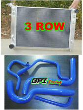 3ROW Holden Commodore VN VG VP VR VS V6 3.8L ALLOY ALUMINUM RADIATOR +HOSE