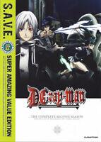 D.Gray-man: The Complete Second Season (Season 2) (4 Disc) DVD NEW