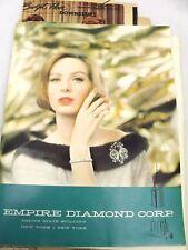 VTG Empire Diamond Corp Catalog ( Empire State Building) & More 1960s