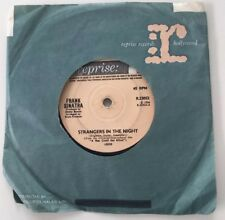 "FRANK SINATRA Strangers In Night/kind Of Town 1966. 7"" 45 Reprise 23052 VG"