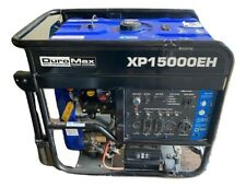 DuroMax 15,000-W Portable Hybrid Dual Fuel Powered Generator with Electric Start