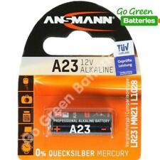 1x Ansmann A23 12V Alkaline Batteries MN21 23A LRV08 E23A 8LR23 High Performance