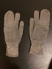 Gloves Mittens Finger Wool Warm Outdoors Gray