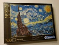 Museum Collection Clementoni 500 pc Jigsaw Puzzle Van Gogh Starry Night