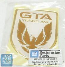 1991-92 Pontiac Trans Am GTA Nose Emblem - White - GM 10189309