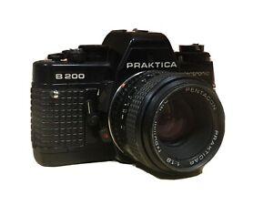 Praktika B 200 electronic + Pentagon Praktika 1:1.8 f=50mm MC