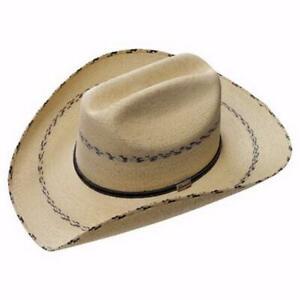 Atwood 7X Two Tone Palm Leaf Straw Hat