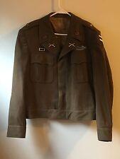 Original Ww2 Us Army Officers Ike Jacket Rare Size 44