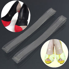Clear Transparent Invisible High Heel Shoe Straps For Holding Loose shoes MO
