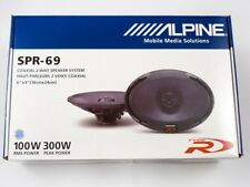 "Alpine SPR-69 Type-R 6""x9"" 2-way car speakers NEW PAIR ALPINE SPR69 SHIP QUICK."