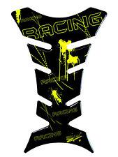 Tankpad 3D Racing Neon Gelb 501276 universell passender Motorrad Tankschutz