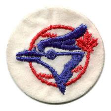 "1970'S TORONTO BLUE JAYS MLB BASEBALL VINTAGE 2"" ROUND TEAM PATCH"