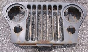 Jeep Cj Grill CJ5 Cj7 Cj8 AMC 76-86 Grille wall hanger