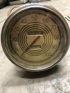 1937 Lincoln Zephyr Speedometer.