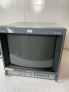 Trinitron Olympus Color Video Monitor OEV 143