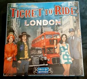 Ticket To Ride London by Days Of Wonder NEW