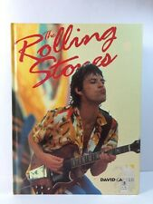 """The Rolling Stones By David Carter 1994 Hardcover Coffee Table Book 9"""" x 12"""""""