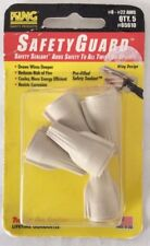 King Safety Products Safety Guard, #8 - #22 AWG, Set of 5 Tan Connectors - NEW