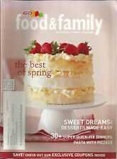Kraft Food & Family Spring 2006 Desserts Made Easy/30 Quick Fix Dinners/Pasta
