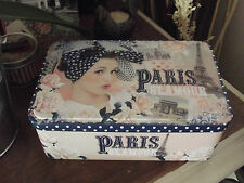 """boite a sucre """"paris glamour"""" orval creations"""