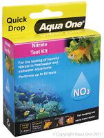 Aqua One A1-92055 Quick Drop Nitrate NO3 Test Kit Range 0 to 10ppm for Aquarium