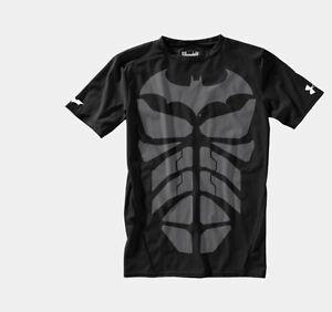 Under Armour Alter Ego Compression T-Shirts Superman Batman Spiderman NWT RARE
