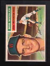 1956 TOPPS #327 ROBERT WIESLER EX-MT D4474