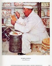 Norman Rockwell Saturday Evening Post WEIGHTY MATTERS