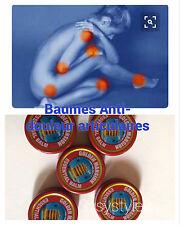 lot 5 Baumes chinois rouge chauffant anti-douleurs articulaires et maux de tête