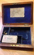 Antique Pistol Box Remington Derringer
