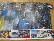 1973 Swedish Grand Prix Anderstorp Racing Poster Formula 1 McLaren Goodyear Tire