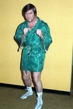 Old Boxing Photo Jerry Quarry Poses During A Training Session In New York 2