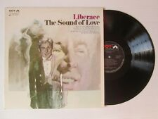 LIBERACE The Sound Of Love LP USA EASY LISTENING FRANK CHACKSFIELD