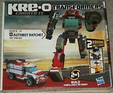 Transformers Kre-O 30662 Ratchet new sealed hasbro unopened 187 pieces