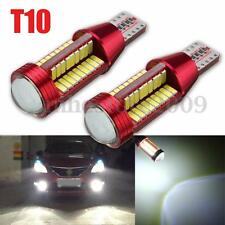 2x T10 501 194 W5W 4014 LED 78-SMD Car Canbus Error Free Wedge Light Bulb Lamp