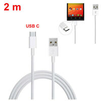 USB 3.1 USB-C Type C Data 2M Charge Charging Cable For HUAWEI P9 / G9 White