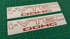 Acura Civic Type R i-VTEC DOHC Vinyl Decals Stickers graphics ivtec JDM Type S