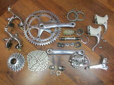 VINTAGE CAMPAGNOLO RECORD 7 SPEED 170 53/42 GROUP COMPLETE BUILD KIT GRUPPO