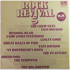 Rock Revival 5 by Various Artists, Fontana 1973 LP Vinyl Record