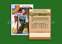Jim Bedard - Washington Capitals - Custom Hockey Card  - 1977-78