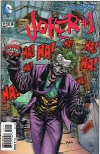 Batman V2 #23.1, Joker #1, New 52, Suicide Squad, 3D Lenticular cover, 2013