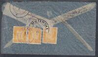 45489) ZITTAU Sachsen 1937 Brief aus Bolivien mit Postamt-Verschluß-Siegel
