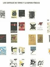 Los Carteles de Tapies y La Esfera Publica: Tapies Posters and the Public Sphere