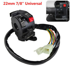 "22mm 7/8""Motorcycle Handlebar Start Stop Headlight Hi/Low Throttle ON-Off Switch"