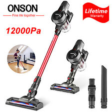 Onson Hepa Cordless Vacuum Cleaner |Red | 12000Pa D18E