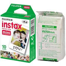 10 Fuji Instax Mini 8 Film Bulk Pack Fujifilm Mini 25/50s Mini 90/7s Original
