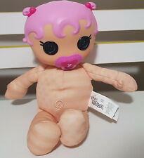 LALALOOPSY BABIES DOLL PLUSH TOY! ABOUT 19CM SEATED SOFT TOY! JEWEL SPARKLES?